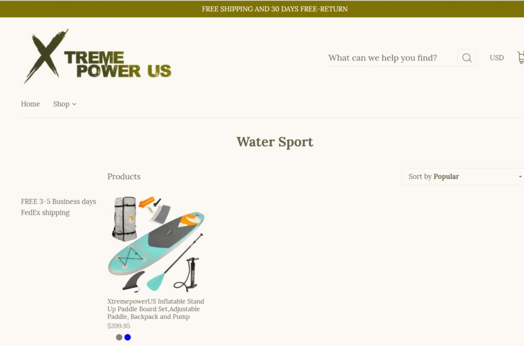 Best paddle board brand no.8 Xtreme Power us