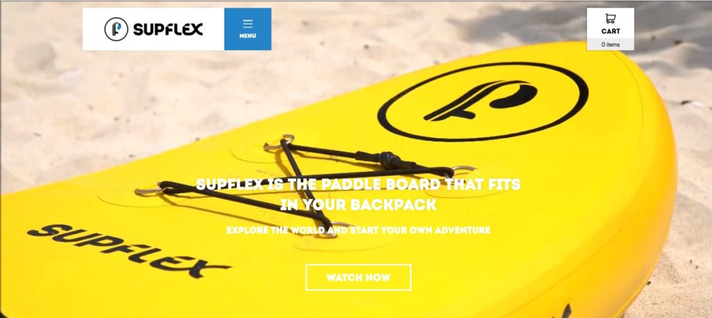 Best paddle board brand no.6 SUP flex