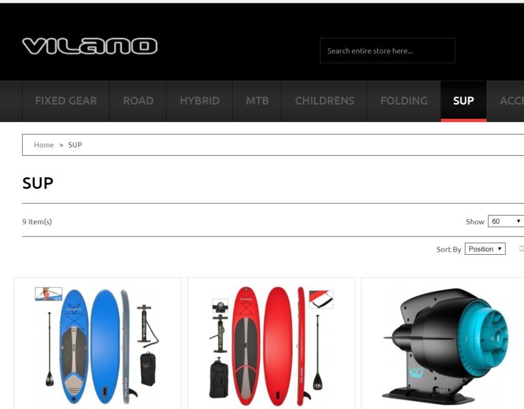 Best paddle board brand no.7 VILANO