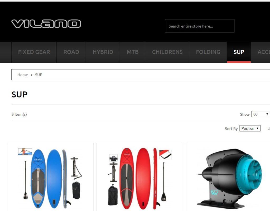 Best paddle board brand no.7 VILANO