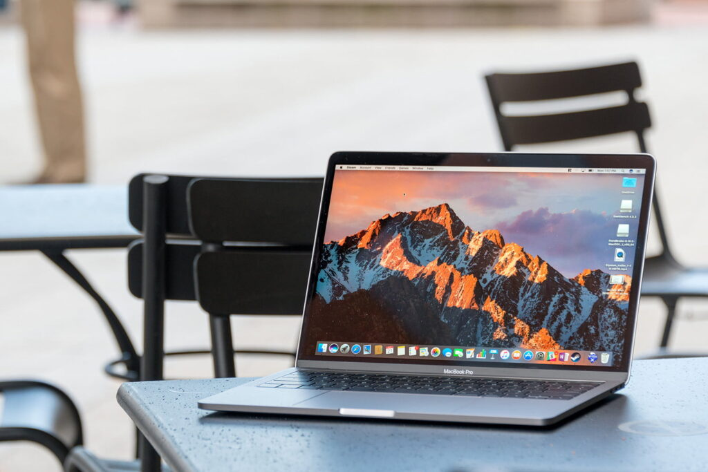 Macbook Pro (best laptops for mba and marketing students)