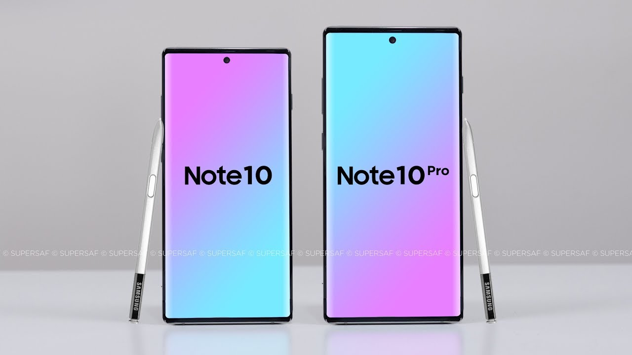 Note 10 pro borderless