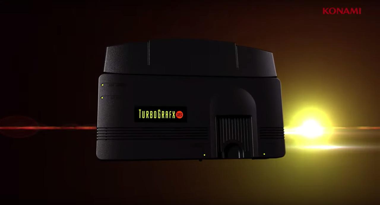 Konami Announces Turbografx-16 Mini Console 8