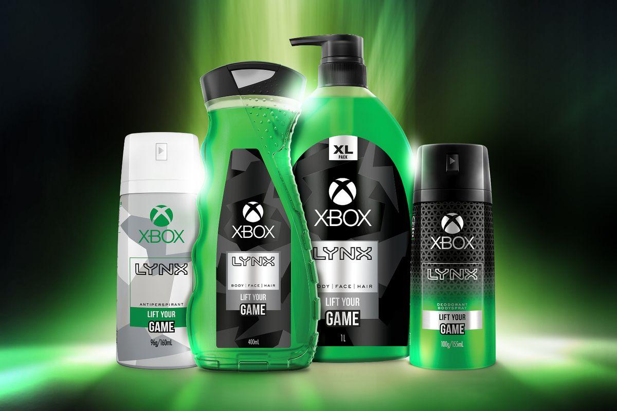 Microsoft and Unilever's Xbox body wash 1