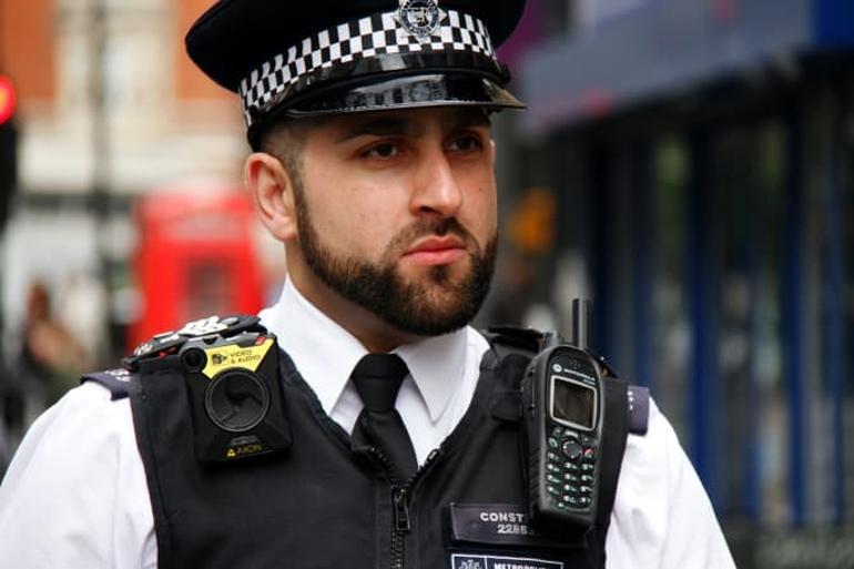 London police camera fails