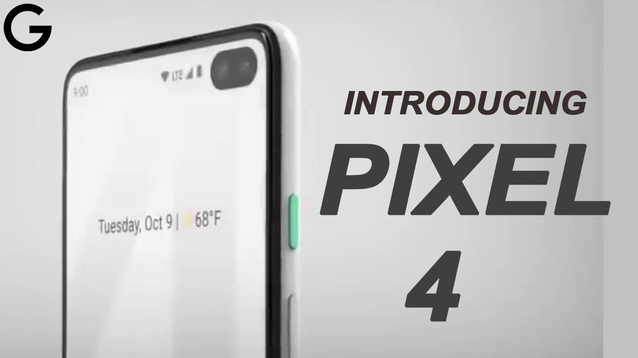 Official Looking Pixel 4 Promo Video Out 1