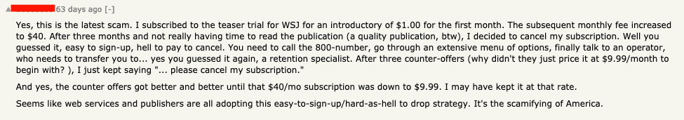 NYT (NewYorkTimes) shady unSubscription dark patterns explained & steps to exit. 5