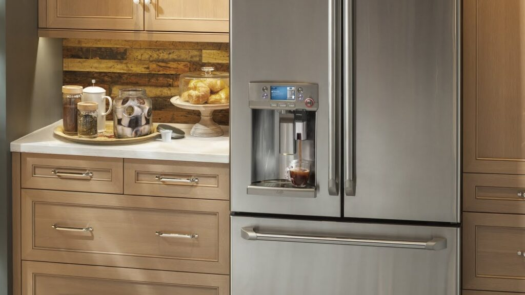 GE's Cafe French door refrigerator