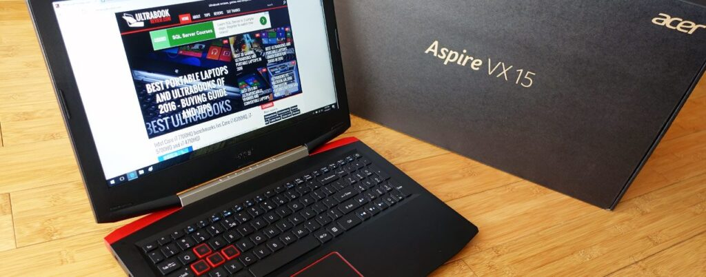 Acer Aspire VX 15 - best laptops for electrical engineering students