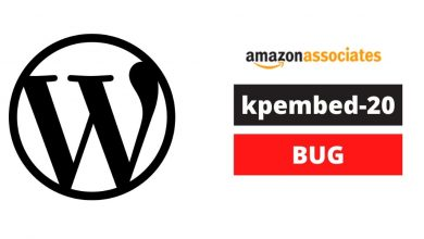 """Amazon Affiliate Websites on Wordpress are affected by """"kpembed-20"""" bug (Proofs Included) 9"""