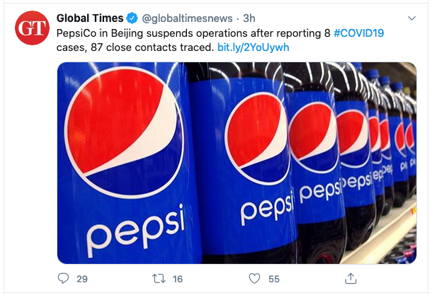 China suspends 2 American Companies operations including PepsiCo 1