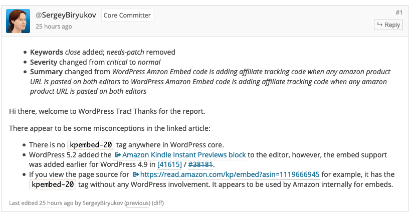 "Amazon Affiliate Websites on Wordpress are affected by ""kpembed-20"" bug (Proofs Included) 3"