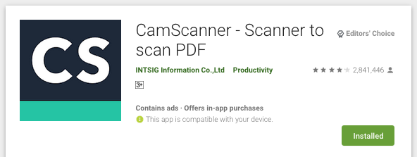 CamScanner alternatives are not safe for Android users. Top 11 of 18 apps are associated with China 8
