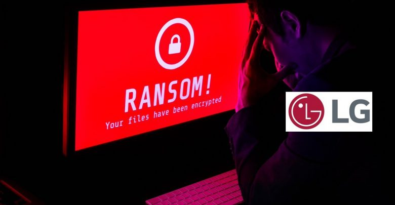 ransomware attack LG