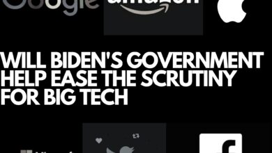 Will Biden's Government Help Ease the Scrutiny for Big Tech 7