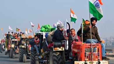 The Farmer's Protest controversy now goes beyond the country border. 8