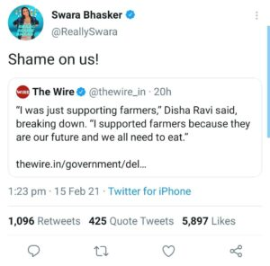 The Farmer's Protest controversy now goes beyond the country border. 6