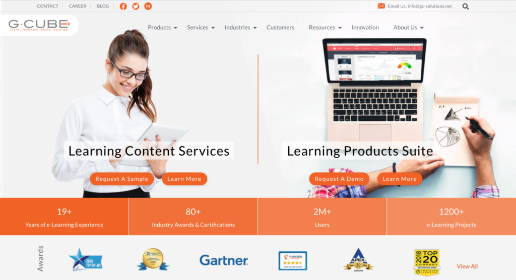 Top 6 eLearning Vendors To Choose From In 2021 5