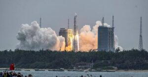Chinese rocket 5B Yao-2 : Speculations and concerns put to an end as the rocket disintegrates over the Indian Ocean 2