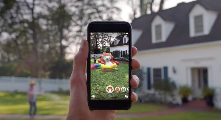 Snapchat's Augmented Reality gets widely accepted and successful reviews 1