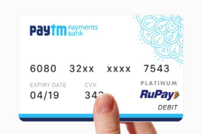 Paytm Payments Bank to issue physical visa debit cards 2