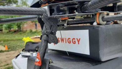 """""""Swiggy"""" customers will soon get their meals via drone. 6"""