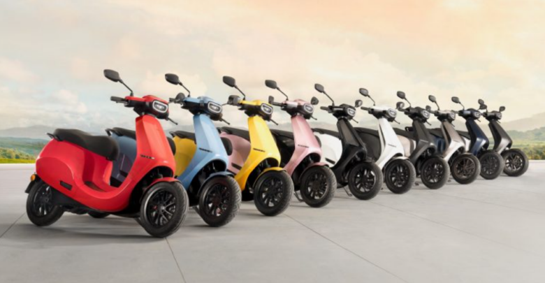 Ola Electric Scooter will be available in ten different colors 1