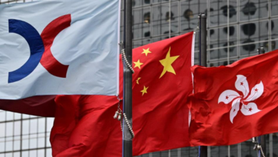 The Hang Seng index in Hong Kong has dropped more than 8% in two days as China's tech companies continue to plummet 17