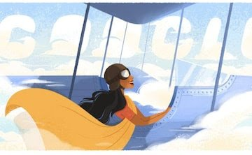 """Google honored India's first female Flyer """"Sarla Thakral"""" on the auspicious occasion of her birth anniversary 1"""