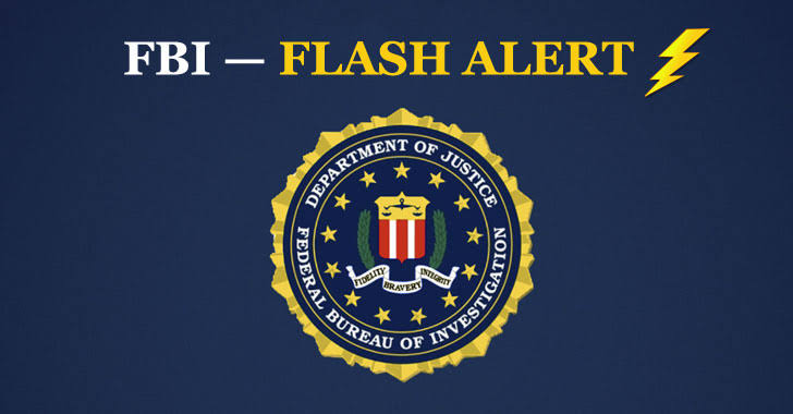 Flash alert by FBI for OnePercent Group Ransomware active in the US 1