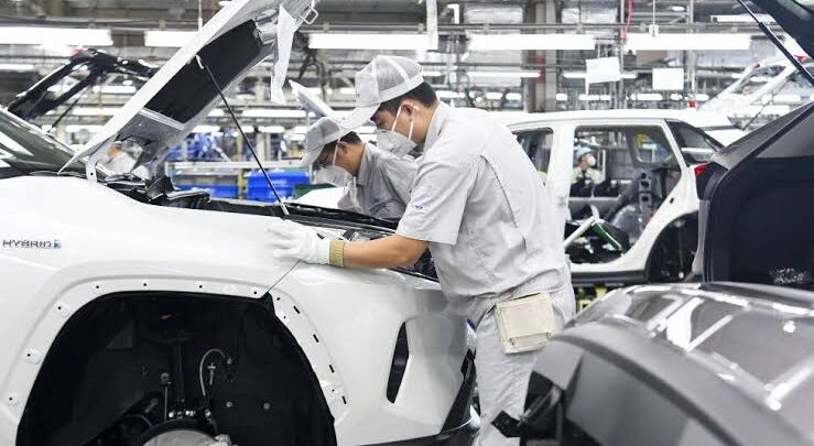 Toyota plans to cut global production by 40% for the month of September. 1