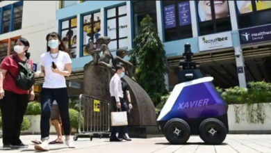 Singapore is experimenting with patrol robots to deter antisocial behavior 8