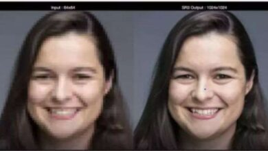 Google unveils a new AI-powered technology to transform pixelated photographs into high-resolution images 8
