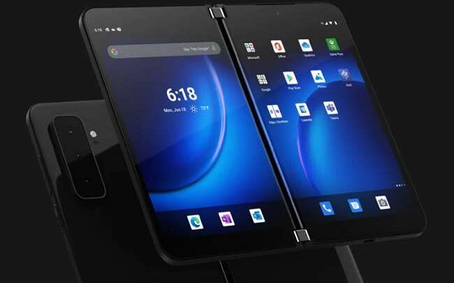 Microsoft's foldable smartphone arrives in the market, let's discover the price and specifications 1