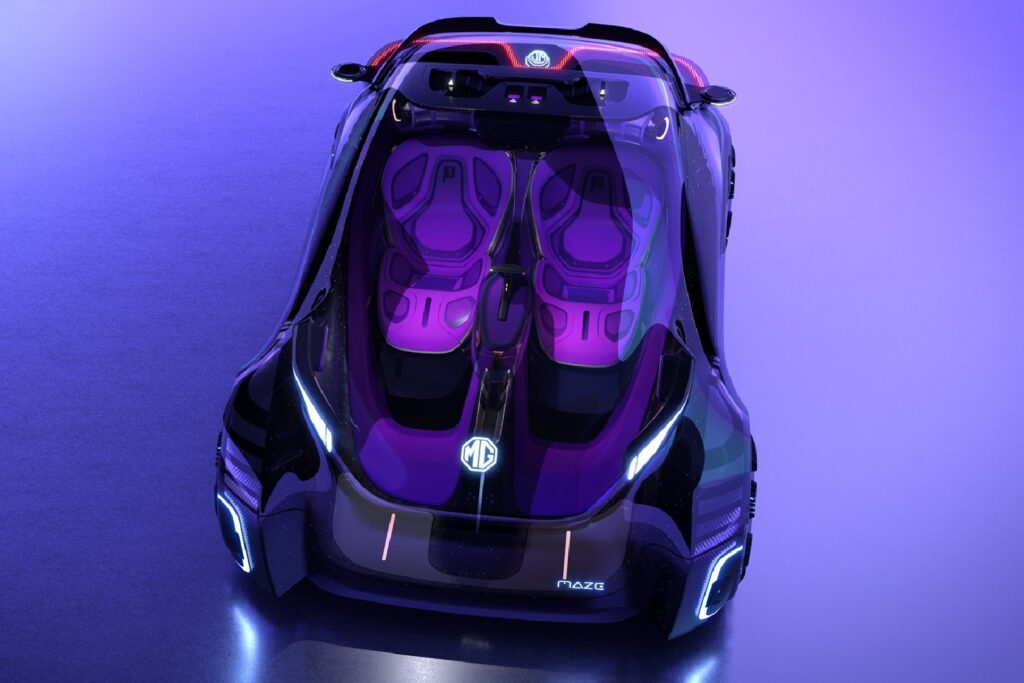 You can drive this car using your smartphone as a steering wheel 2