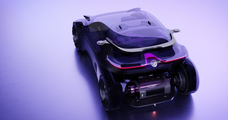You can drive this car using your smartphone as a steering wheel 1