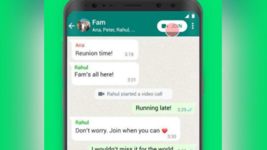 WhatsApp allows users to join ongoing calls straight from group chats 7