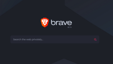 Brave browser has its own search engine that substitutes Google 2